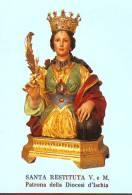 S. Restituita V E M,  Santino Con Preghiera