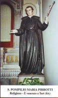 S. Pompilio Maria Pirrotti,  Santino Con Preghiera