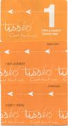 Lot De 3 Tickets Toulouse : 1 Déplacement Pro - 1 Déplacement - 2 Déplacements 1 Personne - Métro