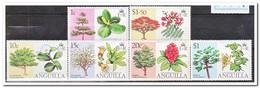 Anguilla 1976, Plakker MH, Flowering Trees - Anguilla (1968-...)