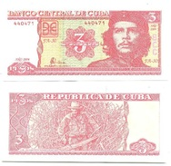 Cuba 3 Pesos 2004 Pick 127,a UNC - Cuba