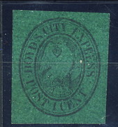 US Local 1844-68 Boyd's City Express Post 1 Cent. Verde Scuro M - 1845-47 Emissions Provisionnelles
