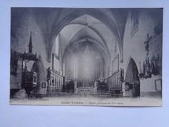 Réf: 79-2-2.              SAINT-THIBERY              Eglise Gothique Du XVe Siècle - Other Municipalities