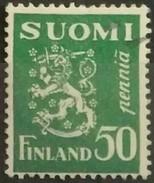 FINLANDIA 1932 Lion. USADO - USED.