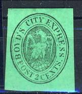 L3/22 US Local Post Stamp Sc20L14 Boyd's City Express Post Unused - 1845-47 Emissioni Provinciali