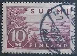 FINLANDIA 1932 New Engraving - Thick Lines In The Drawing. USADO - USED.