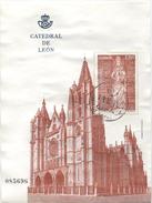 Espagne : Catedral De Leon 2012 : 2,90€ Oblitéré - 1931-Heute: 2. Rep. - ... Juan Carlos I