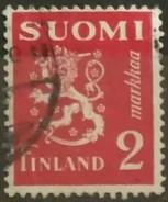 FINLANDIA 1936 Lion. USADO - USED.