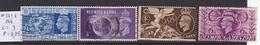 N° 241 à 244 - 1902-1951 (Re)