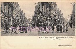 78 - MONTFORT L'AMAURY - Place Lebreton - Rue De Dion  - 2 Scans - Montfort L'Amaury