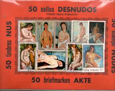 DESNUDOS - LOTE 50 SELLOS - Otros - Europa