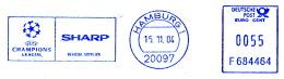 Freistempel 7102 Champions League - BRD
