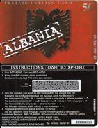 GREECE - Albania, Amimex Prepaid Card 5 Euro, Tirage 20000, 03/03, Sample - Griechenland