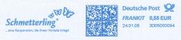 Freistempel 7196 Schmetterling - Marcofilia - EMA ( Maquina De Huellas A Franquear)