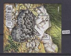 SLOVENIA 2010, Mi. BLOCK 51, SNAKES, VIPERA AMMODYTES, MODRAS, CTO STAMP, See Scans - Slovénie