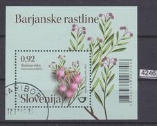 SLOVENIA 2011, Mi. BLOCK 53, ROŽMARINKA, ANDROMEDA POLIFOLIA, FLOWERS, CTO STAMP, See Scans - Slovénie