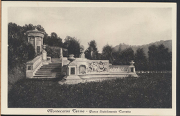 °°° 2983 - MONTECATINI TERME - PARCO STABILIMENTO TORRETTA (PT) 1935 °°° - Italia