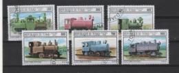 TCHAD - Lomotives Vapeur - Eisenbahnen
