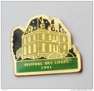 Pin's Chateau Festival Des Loges 1991 - C017 - Pin's