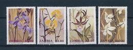 [51254] Zambia 1992 Flowers Orchids MNH
