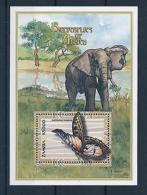 [51362] Zambia 2000 Butterflies Schmetterlingen Papillons Elephant MNH Sheet