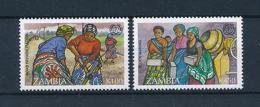 [51265] Zambia 1995 Labour Road Rehabilitation Block Making MNH