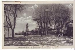 Cpa  Digne Monument Aux Morts - Digne