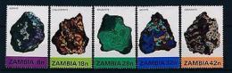 [51176] Zambia 1982 Minerals  MNH