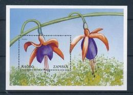 [51358] Zambia 1999 Flowers Fuchsia MNH Sheet