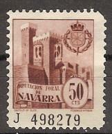 Locales Navarra Diputación Foral (*) Castillo De Olite. 50 Cts - Viñetas De La Guerra Civil