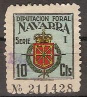 Locales Navarra Diputación Foral (o) Escudo. 10 Cts - Viñetas De La Guerra Civil