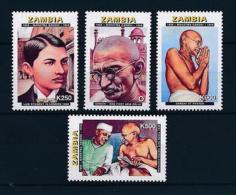 [51295] Zambia 1998 Mahatma Gandhi MNH