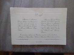 SOISSONS MARIAGE DE MADEMOISELLE LUCIENNE LEVÊQUE AVEC MONSIEUR ROGER VANIER EGLISE SAINT-WAAST SAMEDI 27 FEVRIER 1932 - Mariage