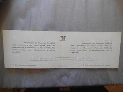 LE CHESNAY MARIAGE DE MADEMOISELLE LUCIE VALLEE AVEC MONSIEUR PIERRE MARIN LE SAMEDI 8 JUIN 1935 EGLISE St ANTOINE DE PA - Mariage