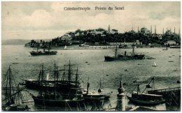 TURQUIE - CONSTANTINOPLE - Poite Du Serail    (Recto/Verso) - Turquie