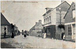 27 SAINT-PIERRE-des-BOIS - La Grande Rue  (Recto/Verso) - Frankrijk