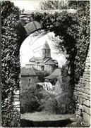 Brancion (71) - Église Romane (XIIè) Vue Du Porche Du Château - Other Municipalities