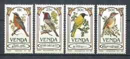 196 VENDA 1985 - Yvert 103/06 - Oiseau - Neuf ** (MNH) Sans Trace De Charniere - Venda