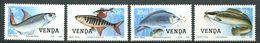 196 VENDA 1987 - Yvert 159/62 - Poisson - Neuf ** (MNH) Sans Trace De Charniere - Venda
