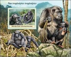 Centrafrica 2012, Animals, Gorilla, BF IMPERFORATED