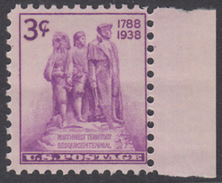 !a! USA Sc# 0837 MNH SINGLE W/ Right Margin - Northwest Territory Sesquicentennial