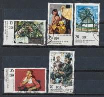 DDR/East Germany/Allemagne Orientale 1974 Mi: 2001-2005 Yt: 1682-1686 (Gebr/used/obl/o)(1801) - Used Stamps