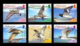 Alderney 2009 - Resident Birds 4 Stamp Set Mnh - Alderney