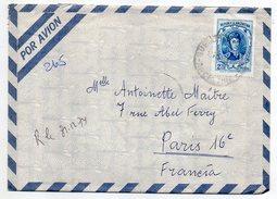 Argentine--1974--Lettre De BUENOS AIRES Pour PARIS (France)-tp Seul Sur Lettre - Argentine