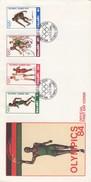 MALAWI FDC OLYMPICS 84 - 1 JUNE 1984 OLYMPICS GAMES  /2