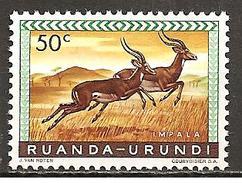 Ruanda-Urundi 1959 // Michel 164 A ** - Ruanda-Urundi