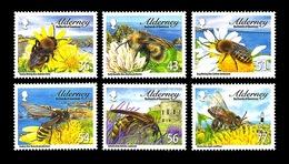 Alderney 2009 - Bees Stamp Set Mnh - Alderney