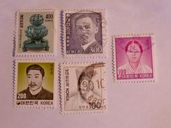 CORÉE DU SUD  1981-89  LOT# 18 - Corée Du Sud