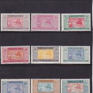 Mauritanie Série N° 39 à 49 Neuf * (Manque N° 41 & 47) - Voir Verso - Mauritanie (1906-1944)