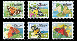 Alderney 2012 -Tiger Moths & Ermines Stamp Set Mnh - Alderney
